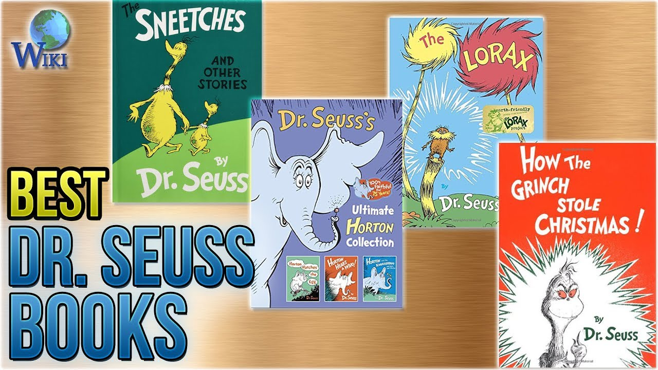 10 Best Dr Seuss Books 2018 Youtube