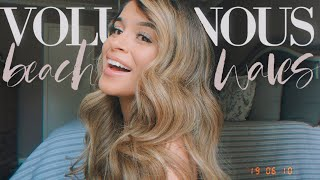BEACH WAVES TUTORIAL FOR LONG HAIR + RELATIONSHIP/LIFE ADVICE: DEALING WITH INSECURITIES, &SELF LOVE