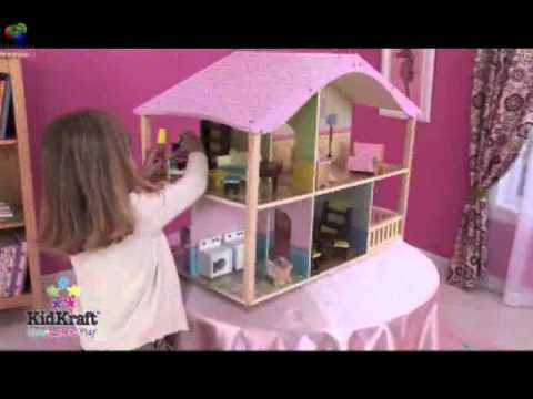 Casas de muecas de lujo en colores pastel  YouTube