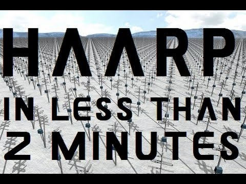 HAARP   in less than 2 minutes