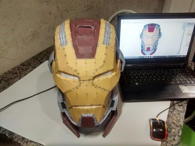 MK 17 Heartbraker wearable cosplay replica pepakura pattern to build your own