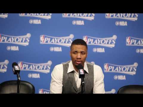Damian Lillard calls Portland Trail Blazers' 2017 playoff performance 'disappointing'