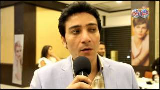 خبير التجميل حسن باشا يتفوق علي نجوم لبنان في مهرجان الأرز بلبنان