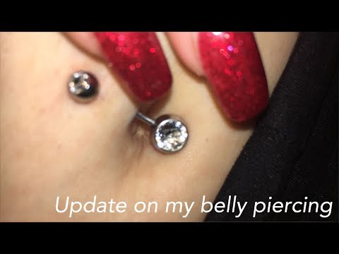 HOW I CLEAN MY BELLY PIERCING + MY EXPERIENCE!