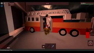 Being a firefighter! -roblox- Part 1