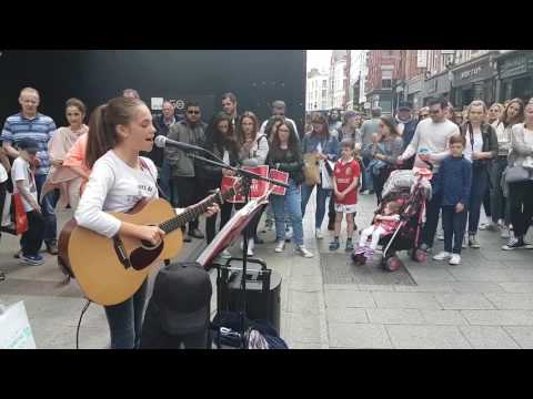 Lilly Allen somewhere only we know cover by allie Sherlock