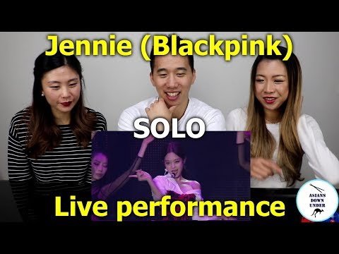 JENNIE - 'SOLO' PERFORMANCE [IN YOUR AREA] SEOUL | Reaction - Australian Asians