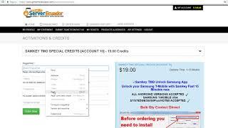 How to buy samkey tmo credits videos / InfiniTube