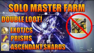 Guide/Commentary - Farming Lake of Shadows Master Solo in under 14 minutes (INSANE DOUBLE LOOT!)