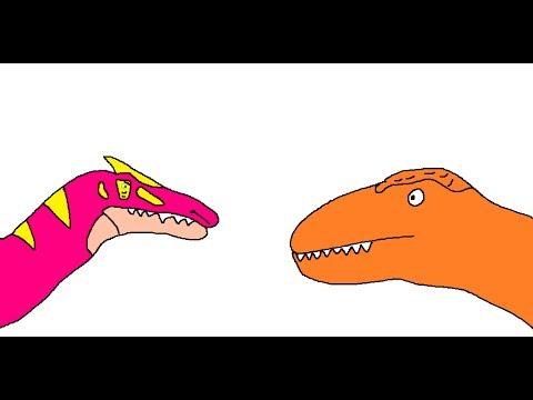 BRS3 Daspletosaurus Vs Irritator