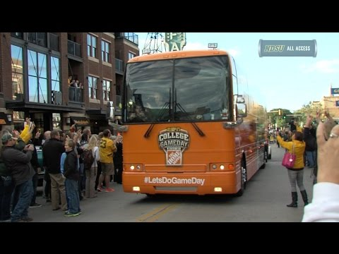 ESPN's College GameDay Arrives in Fargo