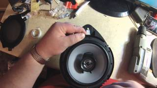 Chevy Cobalt Sedan Speaker Replacement