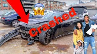 WE HAD A HORRIBLE CAR ACCIDENT ON BLACK FRIDAY !!