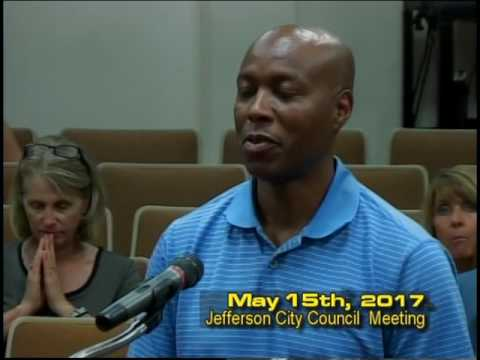 Jefferson City Council Meeting May 15th 2017