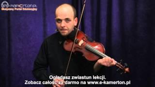 zwiastun lekcji melodie na skrzypce canon w d dur pachelbela