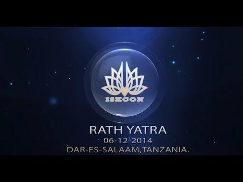 ISKCON Dar-Es-Salaam Rath Yatra, Date:06/12/2014.