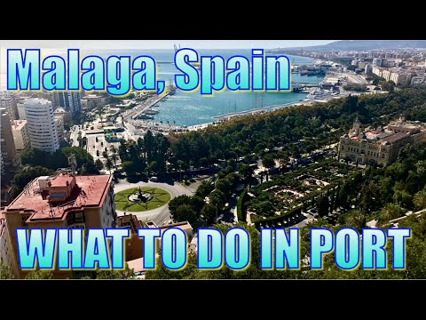 Walking in Malaga, Spain - What to Do on Your Day in Port
