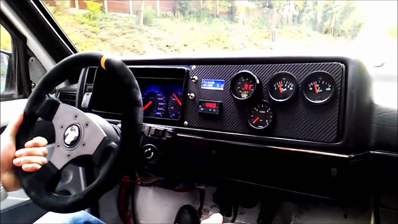 Golf2 vr6 turbo 4motion gtx42 02r youtube