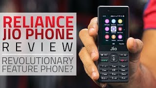 Jio Phone Review | Features, Apps, Camera, and More