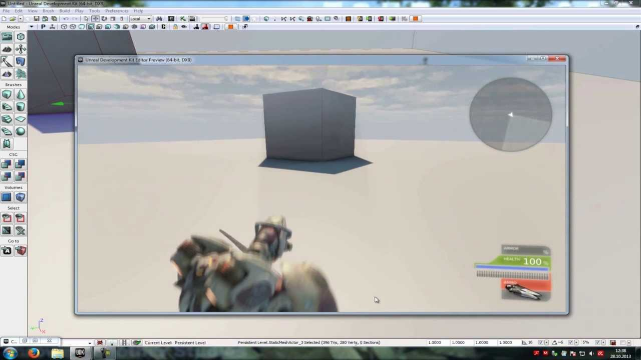 UDK Tutorial: attach to socket (english)