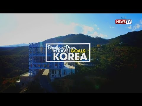 Biyahe ni Drew: #TravelGoals in South Korea  (Full episode)