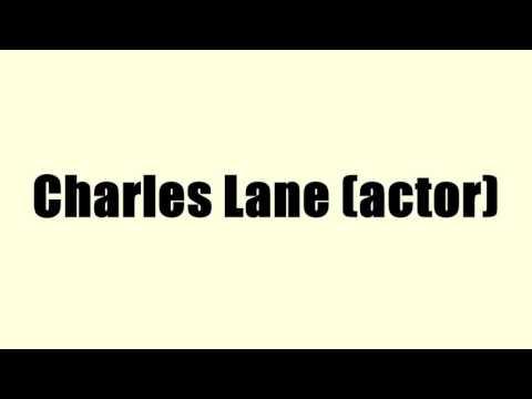 Charles Lane (actor)