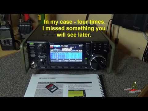 IC-7300 Firmware Update Video