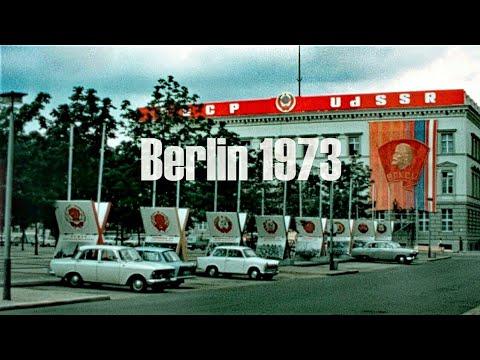 Berlin DDR 1973 - Rundgang durch Berlin-Mitte - Müggelspree