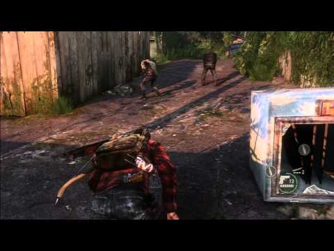 The Last of Us - Bill's Town: Graveyard [Alternative Gameplay 2: combat, stealth and avoid combat]