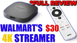ONN. ANDROID TV UHD STREAMING DEVICE REVIEW | WALMART'S $30 4K STREAMER GOES AFTER THE  FIRESTICK