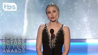 Kristen Bell Opening Monologue  24th Annual SAG Awards  TBS