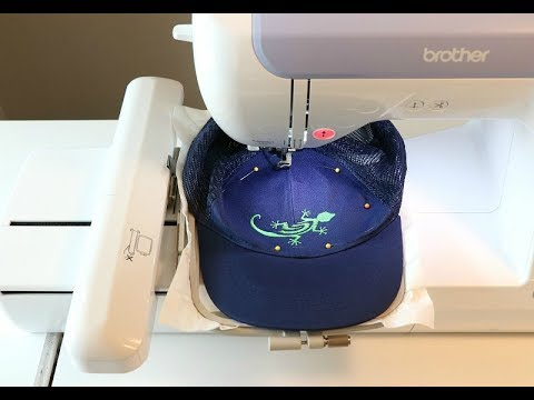 How To: Machine Embroider A Hat