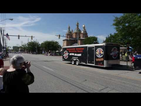 Ukrainian Village Parade in Parma, Ohio USA 8.27.2016 - Cleveland Ohio Videography