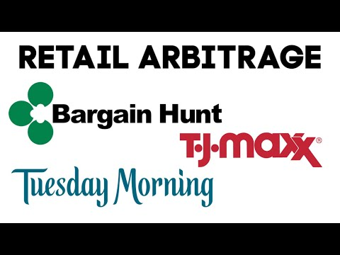 Retail Arbitrage Trip to Bargain Hunt, TJ Maxx, and Tuesday Morning - Sourcing for Amazon FBA