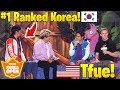 Tfue vs #1 RANKED SOUTH KOREA PLAYERS! $1,000,000 Fortnite Korea Solo Tournament (SUPER INTENSE)