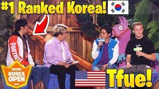Tfue vs #1 RANKED SOUTH KOREA PLAYERS! $1,000,000 Fortnite Korea Solo Tournament (SUPER INTENSE)
