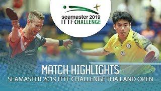 Download Video Ruwen Filus vs Yeh Chih-Wei | 2019 ITTF Challenge Thailand Open (1/4) MP3 3GP MP4