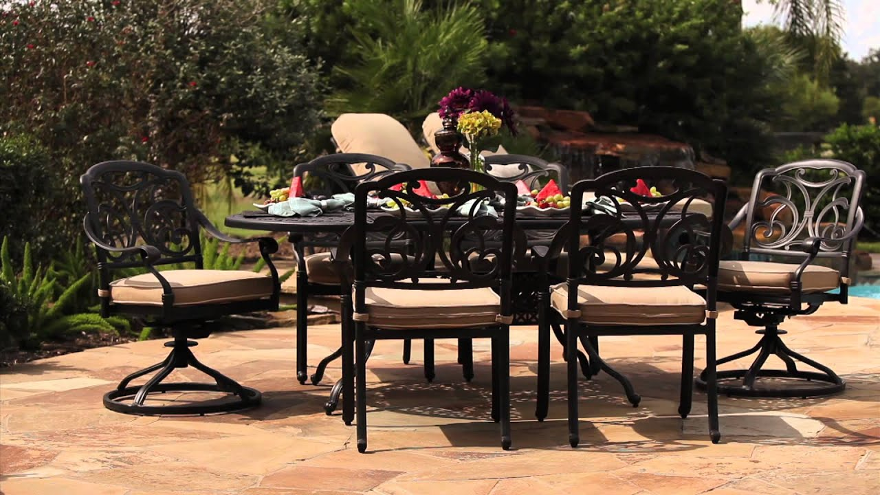 San Paulo 7 Piece Patio Dining Set