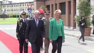 Gentiloni visita il Comando Operativo di vertice Interforze