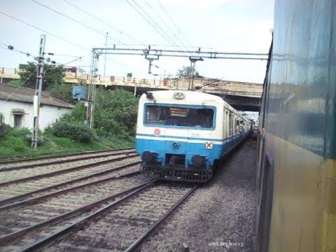 YPR SC Garib Rath skipping Bharat Nagar Meets MMTS and entering Sanathnagar