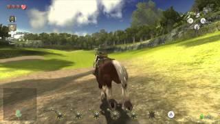 The Legend of Zelda Twilight Princess HD {Wii U} часть 16 — Уроки Сумо