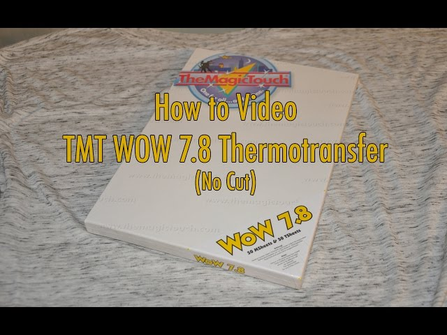 TheMagicTouch WOW Thermotransfer 7.8 | deutsch