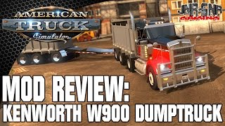 ATS MODS | Kenworth W900 Dumptruck and Pony | AMERICAN TRUCK SIMULATOR MOD REVIEW | ATS MOD REVIEW