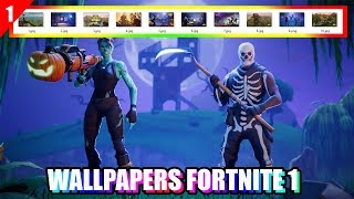 PACK WALLPAPERS FORTNITE 1# - 10 HD AMAZING WALLPAPERS BATTLE ROYALE