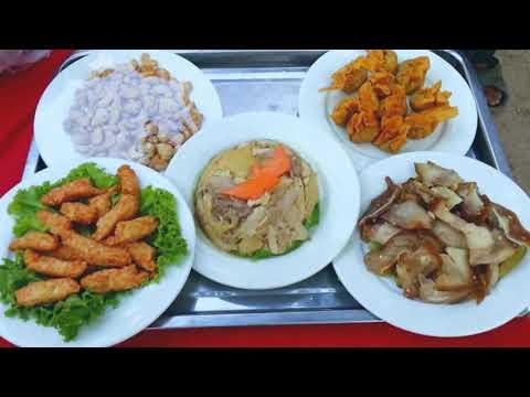 Village food factory - Wedding party Food - Khmer Wedding food - Asian food video # 477