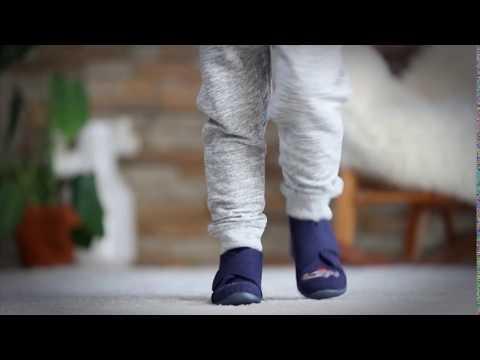 22707b388ede Blå Skofus børnehjemmesko - 6616500550 - YouTube
