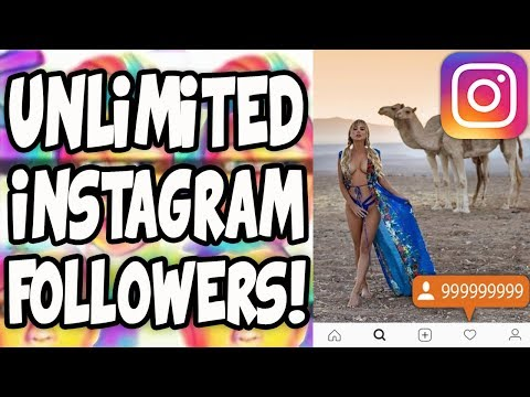 How To Get Unlimited Instagram FOLLOWERS! (NO Computer or Surveys) 2017 BEST METHOD