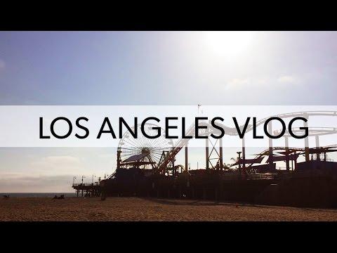 LOS ANGELES vlog   Venice Beach, Santa Monica & Malibu