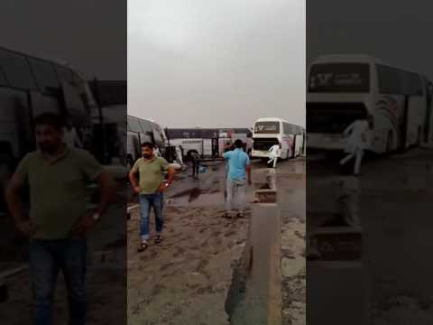 Umrah bus accident in dammam