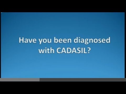 I just found out I have CADASIL